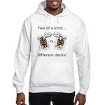 Hooded Sweatshirt Jack Ass vs. Jack Ass