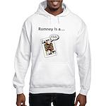 Hooded Sweatshirt Mitt Romney Jack Ass
