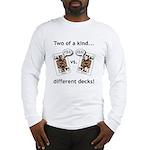 Long Sleeve T-Shirt -2 Sided Jack Ass vs. Jack Ass