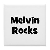 Melvin Rocks Tile Coaster
