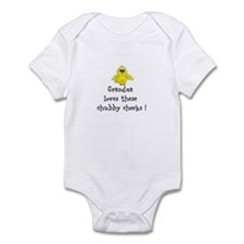 Chubby Cheeks Infant Bodysuit