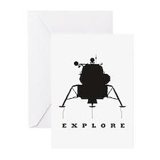 Lunar Module / Explore Greeting Cards (Pk of 20)