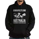 Armwrestling Australia Men's Dark  Hoodie