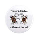 """3.5"""" Button (100 pack) - Jack Ass vs. Jack As"""