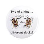 """3.5"""" Button- Jack Ass vs. Jack Ass"""