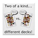 Tile Coaster - Jack Ass vs. Jack Ass
