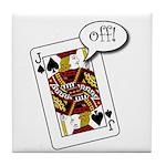 Tile Coaster - Jack Off