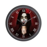 Pretty Dead Wall Clock