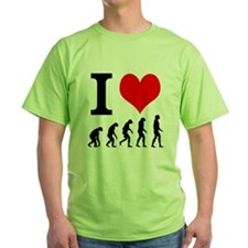 I heart Evolutuion T-Shirt