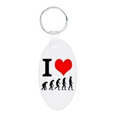 I heart Evolutuion Keychains