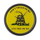 Gadsden Flag Large Wall Clock