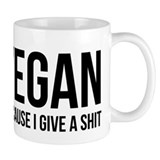 Vegan Give A Shit Small Mug