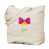 Jane The Butterfly Tote Bag