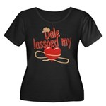 Dale Lassoed My Heart Women's Plus Size Scoop Neck