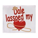 Dale Lassoed My Heart Throw Blanket