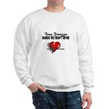 Tony Dinozzo makes my heart throb Sweatshirt