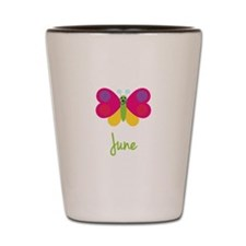 June The Butterfly Shot Glass