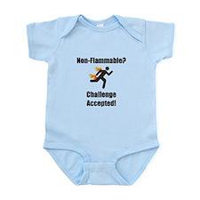Non Flammable Infant Bodysuit