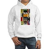 Retro Colored Cassettes Jumper Hoody