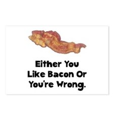 Bacon Or Wrong Postcards (Package of 8)