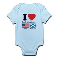 USA-SCOTLAND Infant Bodysuit