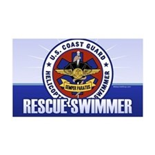 Rescue Swimmer 38.5 x 24.5 Wall Peel