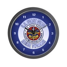 Rescue Swimmer Wall Clock