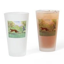 Morning run Drinking Glass