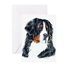 Bernese Mountain Dog Greeting Cards(6)