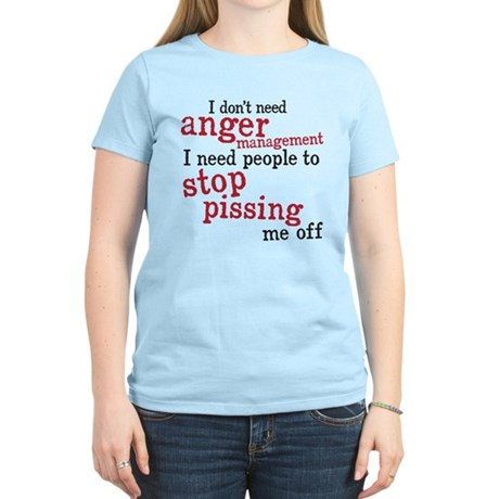 anger management Women's Light T-Shirt