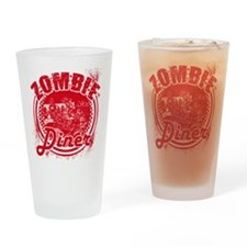 Zombie Diner Drinking Glass