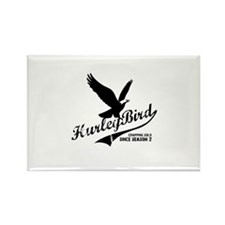 Hurley bird - crapping gold Rectangle Magnet