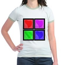 Pop Art Hearts T