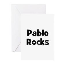 Pablo Rocks Greeting Cards (Pk of 10)