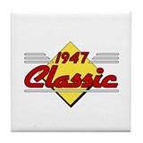 Classic 1947 Sign Tile Coaster