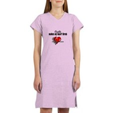Castle makes my heart throb Women's Nightshirt