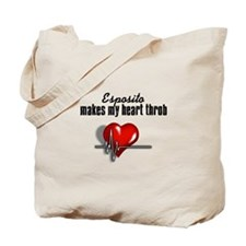 Esposito makes my heart throb Tote Bag