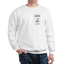 Funny Price Tag Sweatshirt
