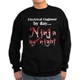 Electrical Engineer Ninja Jumper Sweater