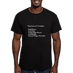 "Gun ""Control"" Men's Fitted T-Shirt (dark"