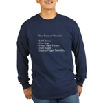 """Gun Control"" Long Sleeve Dark T-Shirt"