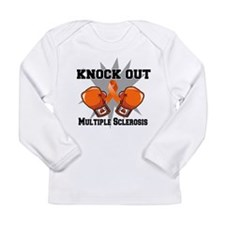 Knock Out Multiple Sclerosis Long Sleeve Infant T-