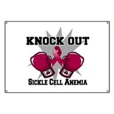 Knock Out Sickle Cell Anemia Banner