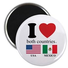 USA-MEXICO Magnet