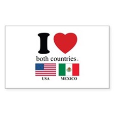 USA-MEXICO Decal