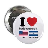 "USA-HOUNDURAS 2.25"" Button (10 pack)"
