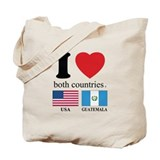 USA-GUATEMALA Tote Bag