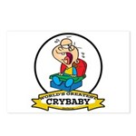 WORLDS GREATEST CRYBABY CARTOON Postcards (Package