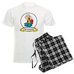 WORLDS GREATEST CRYBABY CARTOON Men's Light Pajama