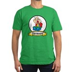 WORLDS GREATEST CRYBABY CARTOON Men's Fitted T-Shi